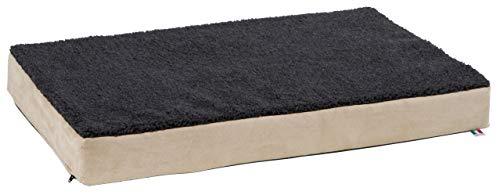 Kerbl 80328 Memory-Foam Matratze, 75 x 115 cm, beige/anthrazit