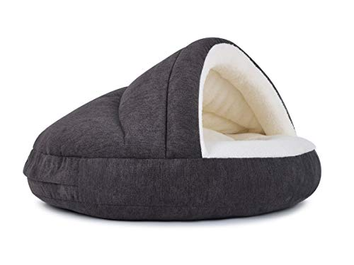 PadsForAll Hundehöhle außen schick, innen bequem, ORTHOPÄDISCH, Hundekorb, attraktive Farben, Katzenhöhle
