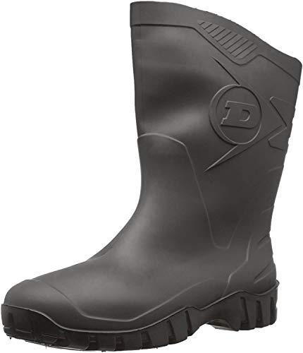 Dunlop Protective Footwear Unisex-Erwachsene Dee Gummistiefel, Schwarz, 44 EU