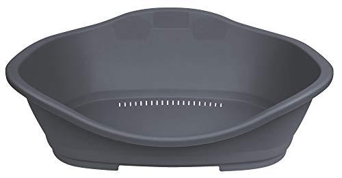 Trixie 38851 Kunststoffbett Sleeper, Gr. 5: 96 × 66 cm, dunkelgrau