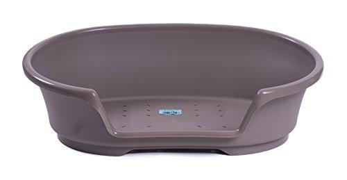 Kunststoff Bett 'Cosy-Air' warmgrau 65 cm