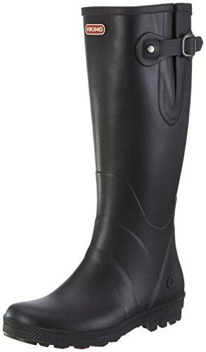 Viking Damen Foxy Gummistiefel, Schwarz (Black 2), 40 EU