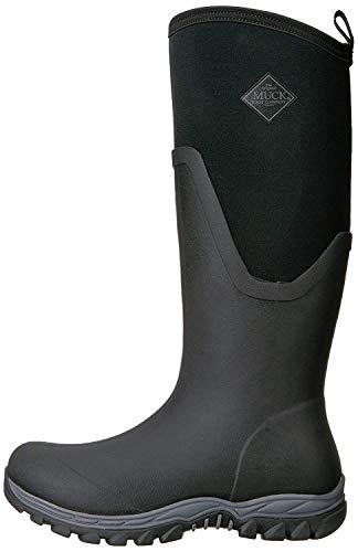 Muck Boots Damen Arctic Sport Ii Tall Gummistiefel, Schwarz (Black/Black), 37 EU