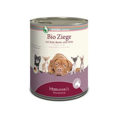 Herrmanns Hundefutter Ziege mit Rote Beete und Hirse, 400 g