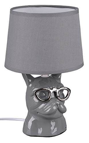 Lampe mit Frenchie