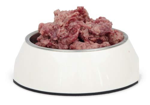 Frostfutter Nordloh > Ziege < 20 x 500 g, Barf Hundefutter gefroren, Frostfleisch-Paket, Gefrierfutter-Set für Hunde, Barf Frischfleisch
