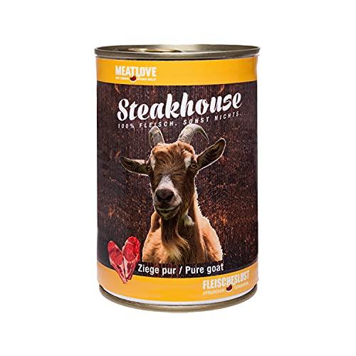 Fleischeslust Steakhouse Ziege Pur, 1er Pack (1 x 410 g)