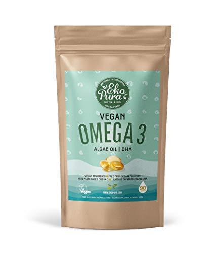 Veganes Omega 3 - Algenöl - 90 Kapseln
