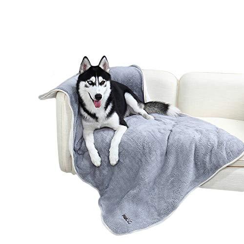 PAWZ Road Weiches warmes Haustier Hundedecke Hundematte Waschbar Doppelschicht Plüsch Dicke Decke Perfekt für kleine mittlere und große Hunde und Katzen