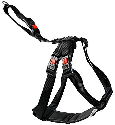 Karlie 1032109 Auto-Sicherheitsgeschirr Nylon L: 35 - 50 cm S schwarz