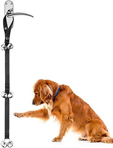 Zellar Dog Puppy Doorbells, Length Adjustable Loud Dog Puppy Potty Toilet House Training Bells