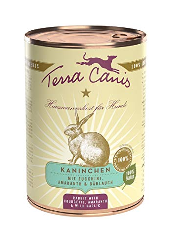 Terra Canis Classic Kaninchen mit Zucchini, Amaranth & Bärlauch