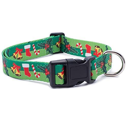 Grünes Weihnachtshalsband