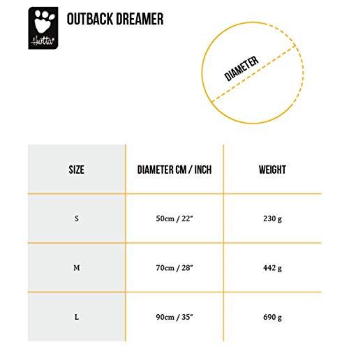 Hurtta Outback Dreamer Dog Sleeping Bag, Orange Sun, Medium