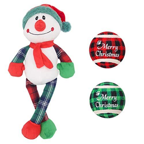 Schneemann mit Karo-Beinen