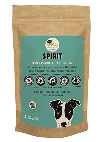 eat small Spirit Hundesnack aus Insektenprotein, 1er Pack (1 x 100 g)