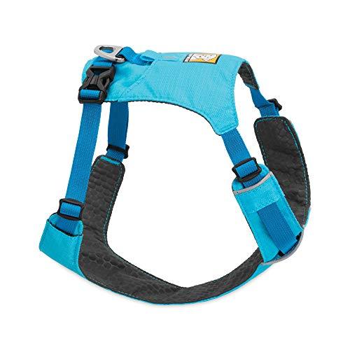 Ruffwear Leichtgewicht-Hundegeschirr, Große bis sehr große Hunderassen, Größenverstellbar, Größe: L/XL, Blau (Blue Atoll), Hi & Light Harness