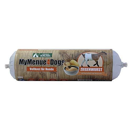 MyMenue4Dogs Hundefutter Ziegenwurst - 800 g