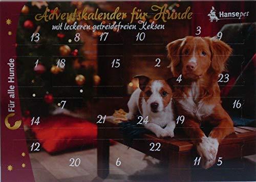 KK Adventskalender für Hunde Leckerli getreidefrei