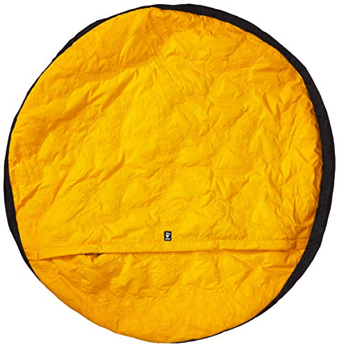 Hurtta Outback Dreamer Dog Sleeping Bag, Orange Sun, Large