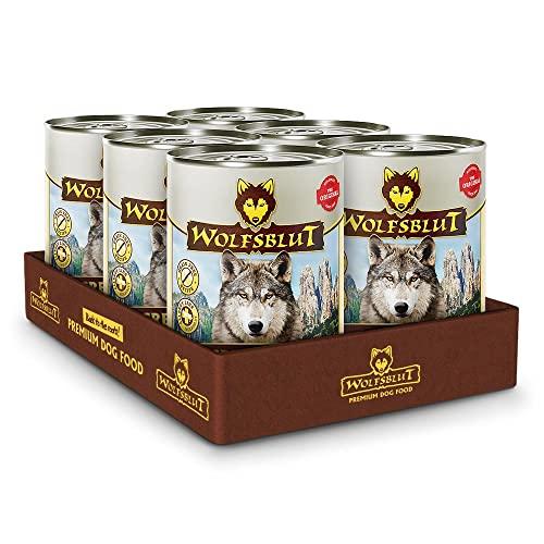 Wolfsblut - Grey Peak - 6 x 395 g - Ziege - Nassfutter - Hundefutter - Getreidefrei
