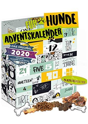 Hunde Adventskalender mit 24 Leckeries für den Vierbeiner I Hundesnacks für die Adventszeit I Geschenkidee für den Liebsten I Snacks für Hunde I Adventskalender 2020