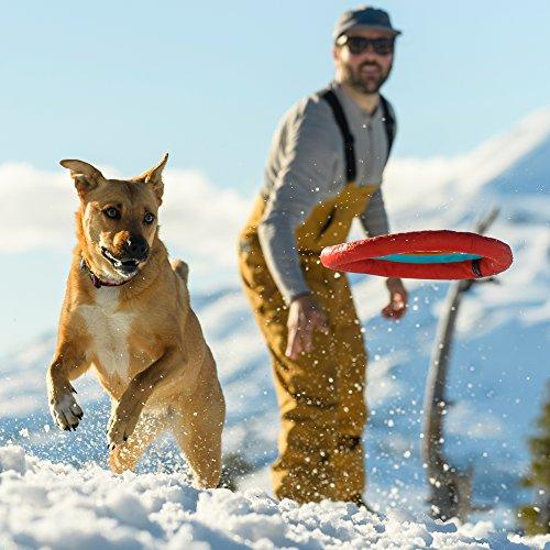 Ruffwear Frisbee Hundespielzeug, Treibt auf dem Wasser, One Size, Rot (Sockeye Red), Hydro Plane