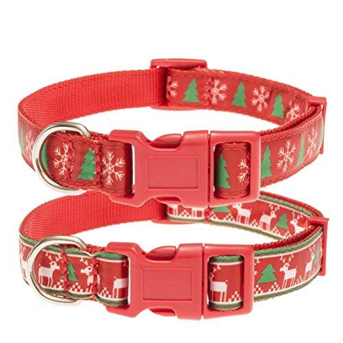 2er-Set Weihnachtshalsbänder