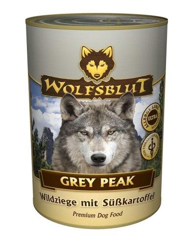 Wolfsblut Dose Grey Peak - 6 x 395g mit 65 % Wildziegenfleisch