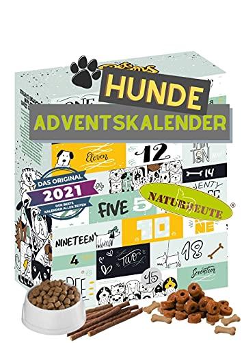 Hunde Adventskalender mit 24 Leckeries für den Vierbeiner I Hundesnacks für die Adventszeit I Geschenkidee für den Liebsten I Snacks für Hunde I Hunde Adventskalender 2021