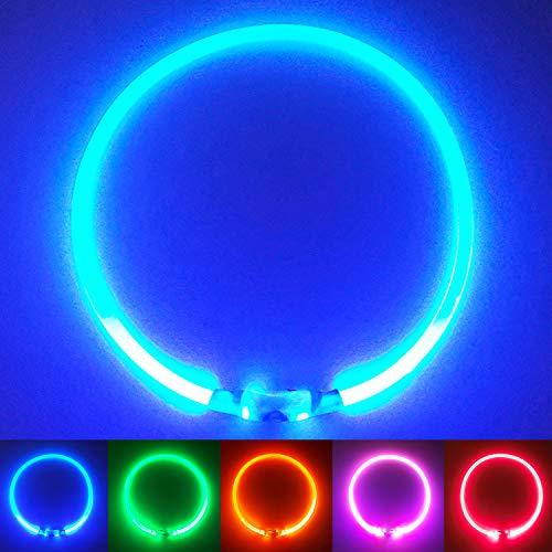 PetSol LED Leuchthalsband für...