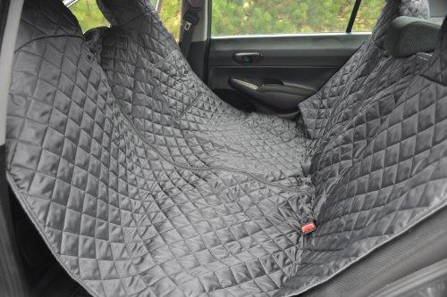 tierlando Autoschondecke REX teilbar Reißverschluss Schutzdecke Auto 160 180 200 x 140cm Größe: SMR 180 cm | Farbe: 02 Graphit