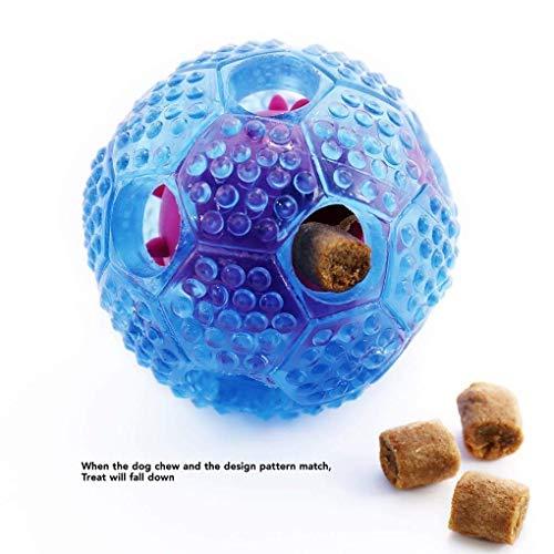 Hunde Ball,DAREYOU IQ Treat Ball fr Hunde ungiftig Haltbare Gummi kauen Spielzeug Blle