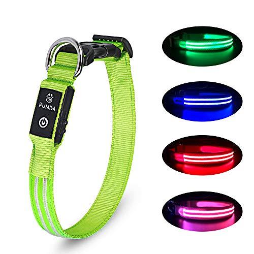 PcEoTllar LED Hundehalsband...