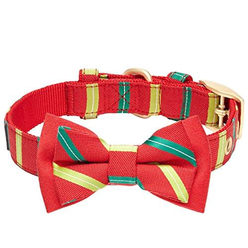Halsband mit weihnachtllicher Verzierung