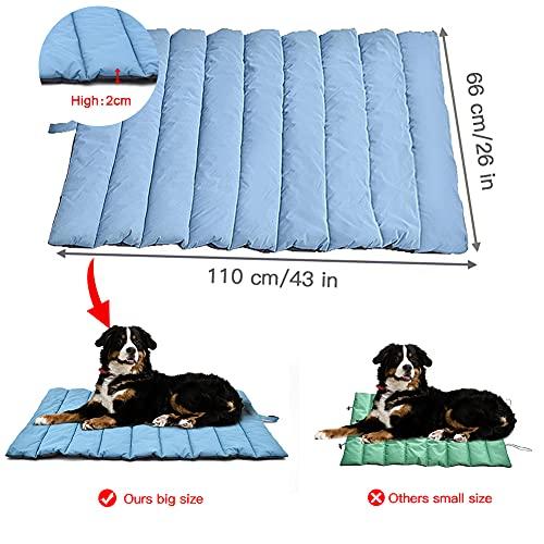 YGJT Hundebett Large/Medium Size Tragbare Hundematte WASSERDICHT Picknickdecke für Die Familie Multifunktionales Kissen für Den Innenbereich für Hunde/Katzen