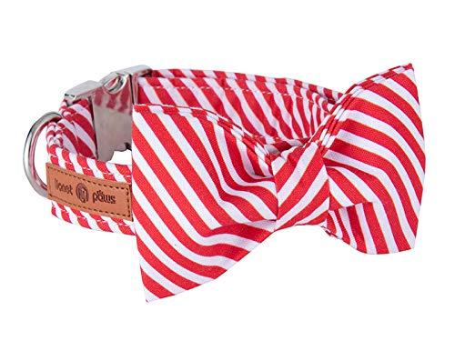 Weihnachtshalsband mit abnehmbarer Fliege
