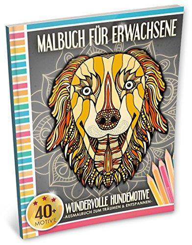 Malbuch mit Hundemotiven