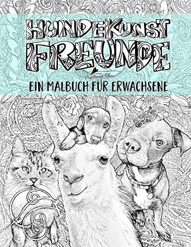Hundefreundschaften-Malbuch