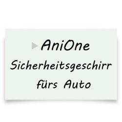 AniOne Sicherheitsgeschirr fürs Auto