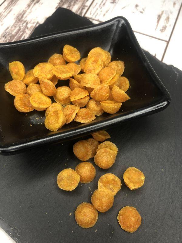 Karotten-Hundeleckerlies Halbkugel